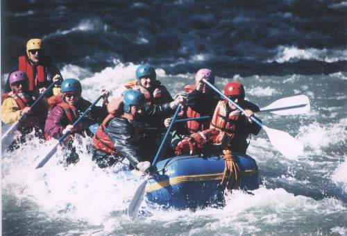 Whitewater River Rafting Trips on the Tieton